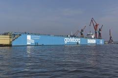 Goteburgo industrial imagen de archivo libre de regalías