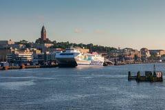 Goteburgo, Suecia - 7 de junio de 2014: Transbordador Stena Imagen de archivo
