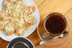 Gotejamento do café Imagem de Stock Royalty Free
