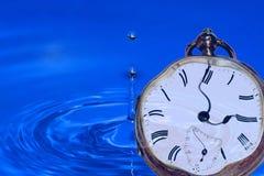 Gotejamentos do tempo Foto de Stock