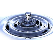 Goteo del agua Foto de archivo
