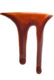 Goteo del chocolate caliente Imagen de archivo libre de regalías