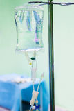 Goteo del intravenoso IV Fotografía de archivo