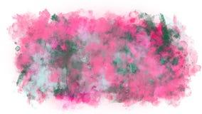 Goteos de la pintura en el canal alfa ilustración del vector