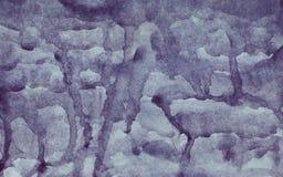 Goteos del Watercolour fotografía de archivo