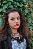 Goth女孩 免版税图库摄影