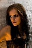 goth νεολαίες πορτρέτου στοκ εικόνες