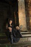 goth девушки Стоковое Фото