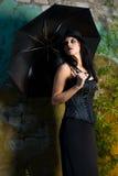 goth девушки Стоковые Изображения