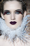 Goth beauty Royalty Free Stock Images