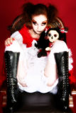 Goth Doll Stock Photos