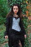 Goth flicka Royaltyfri Bild
