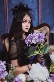 Goth flicka Royaltyfri Foto