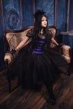 Goth flicka Royaltyfri Fotografi