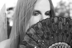 Goth girl Stock Photo