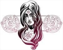 A goth girl Royalty Free Stock Photos