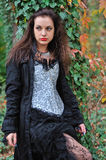 Goth girl royalty free stock image