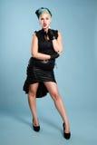 Goth girl Stock Image