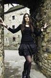 Goth Mädchen Stockfotografie
