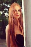 Goth-Mädchen Stockfotografie