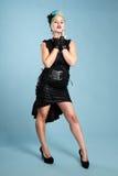 Goth Mädchen Lizenzfreies Stockfoto