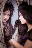 Goth Mädchen Lizenzfreies Stockbild
