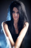 Goth Woman Portrait Royalty Free Stock Photo