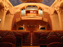 Gotheanum auditorium, Dornach, Switzerland Royalty Free Stock Photography
