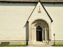 Gothem Church in Gotland Stock Image