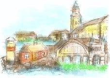 Gothenburg ilustração do vetor