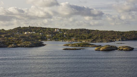 Gothenburg archipelag Fotografia Stock