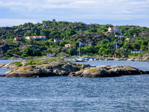 Gothenburg Archipelago in Sweden Royalty Free Stock Photography