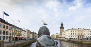 Gothenburg Canal Royalty Free Stock Photos