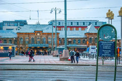 Gothenburg central train station Stock Photography