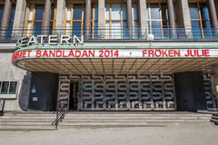 Gothenburg city theater, Sweden Stock Photos