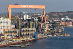Gothenburg - Eriksberg Royalty Free Stock Photo