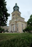 Gothenburg-Kirche mit Weitwinkel stockfoto