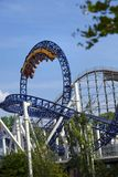 Sweden Gothenburg Liseberg Roller Coaster. royalty free stock photos