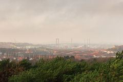 Gothenburg in the mist Stock Photos