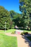 Gothenburg Nebraska Ehman parka krajobraz zdjęcie royalty free