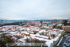Gothenburg skyline in winter Stock Photo
