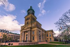 Gothenburg, Svezia - 14 aprile 2017: Cattedrale di Gothenburg, interruttore Immagini Stock