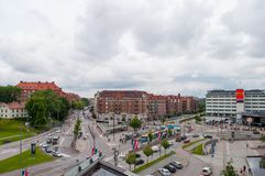 Gothenburg in sweden royalty free stock image