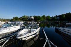 Styrso Marina, Sweden. Royalty Free Stock Image