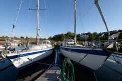 Styrso Marina, Sweden. Royalty Free Stock Photo