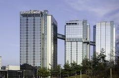 Gothia wierza duży hotell w Gothenburg Obrazy Royalty Free