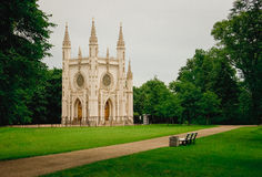 Gothic сhurch Royalty Free Stock Photography