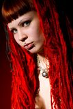 Gothic. Girl Stock Image