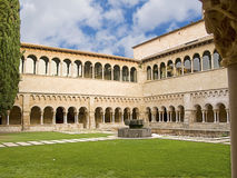 Gothic abbey monastery and cloister Stock Images