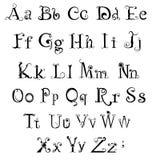 Gothic alphabet Royalty Free Stock Photography